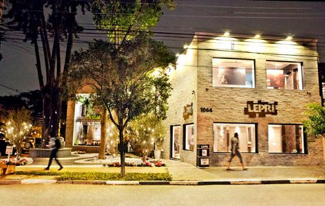 Acompanhamento de obra da loja Lepri na Alameda Gabriel Monteiro da Silva