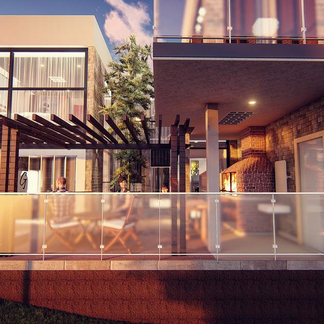 Fachada Residencia Ilha Bela