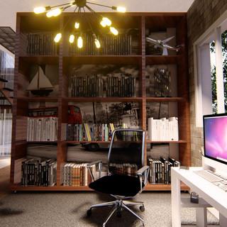Escritório - Residencia Ilha Bela