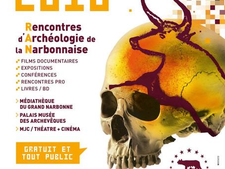 6e éditions des « Rencontres d'Archéologie de la Narbonnaise » du 13 au 17 novembre 2018