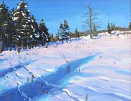 Pole Creek Passage  12x16