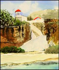 Study for Seaside Sanctuary 6x8