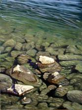 Flathead Lake, Polson  12X9