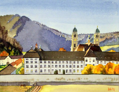 Einsiedeln Abbey 10X12