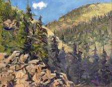 Boulder River Bank 8x10