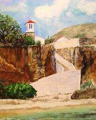 Seaside Sanctuary- Curacao 11x14