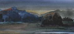 Valley Morning 6x12