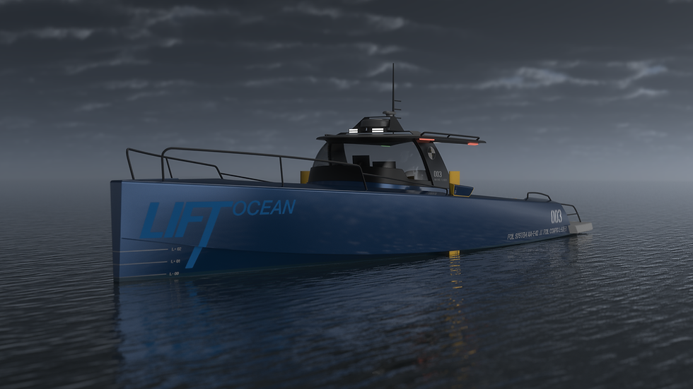 20200128 LIFT Ocean Foiling Jeep 3quarte