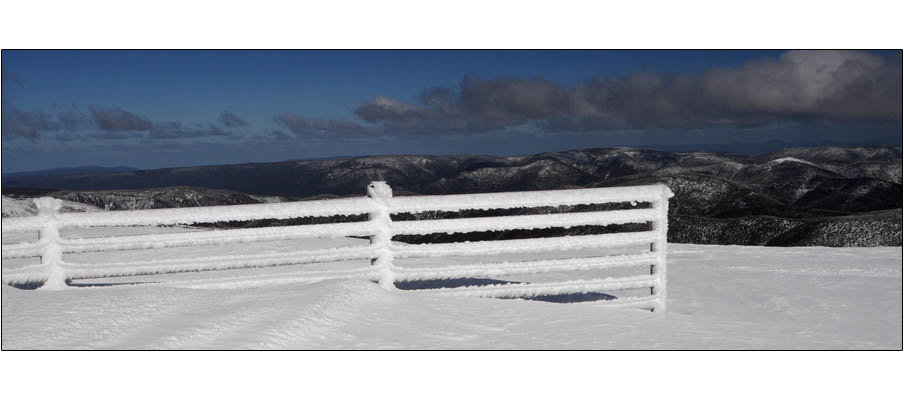 Mt Hotham Frozen Fence (0127)
