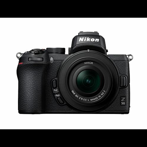 Nikon Z50 + Nikkor Z DX 16-50mm VR