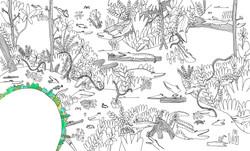 Internal spread for Dorling Kindersley's 'Doodlepedia'