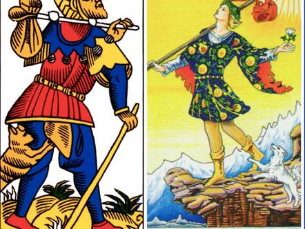 Analysis of the Fool (0) in Tarot - Part 2 (The Kabbalah)