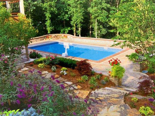 residential hardscape and landscape project