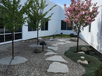 Aisin - Seymour, IN landscape project