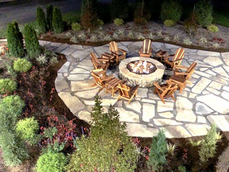 hardscape and landscape project
