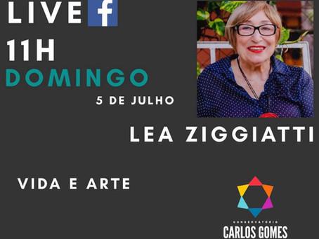Live - Vida e Arte - Dra Lea Ziggiatti