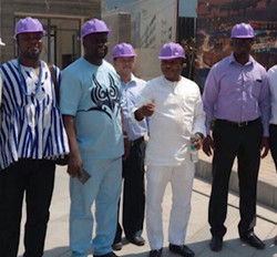Contractor site visit