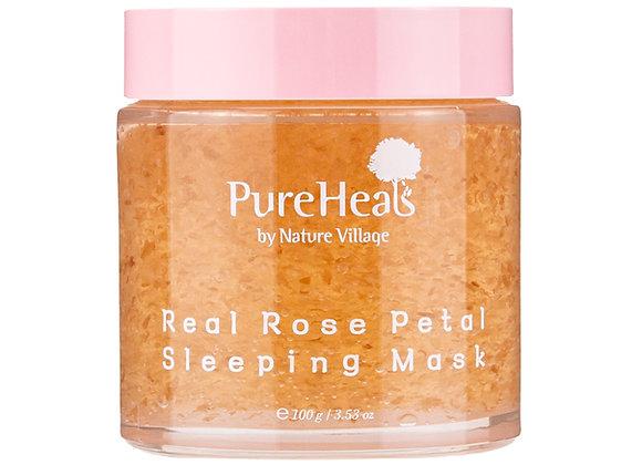 Real Rose Petal Sleeping Mask, 3.53 fl.oz (100g)