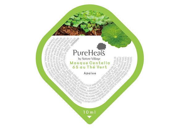 Centella 65 Green Tea Wash-Off Pack (Capsule) 0.34 oz. (10 ml)