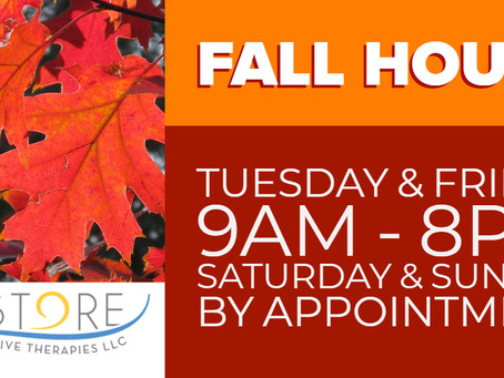 Announcing Fall 2018 Hours!