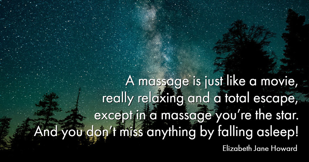 massage is like a movie