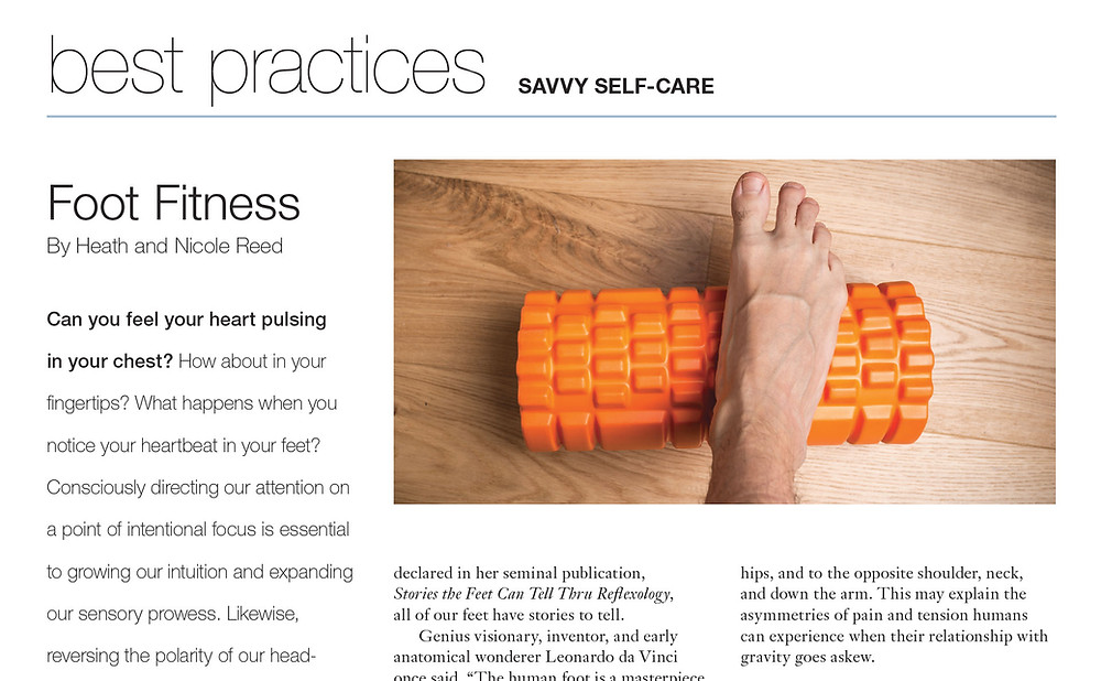 Foot Massage Self Care