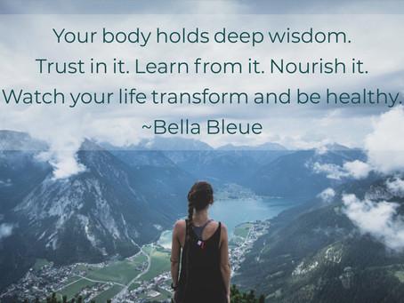 Trust in your Body.