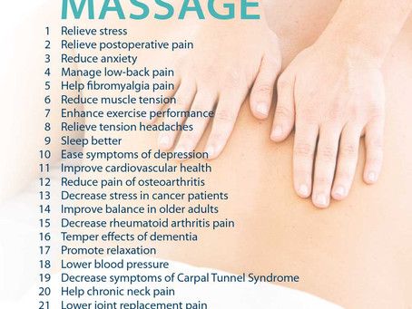 25 Reasons To Get A Massage