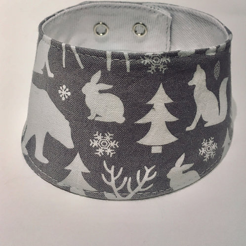 Foulard pour chats à motifs d'hiver