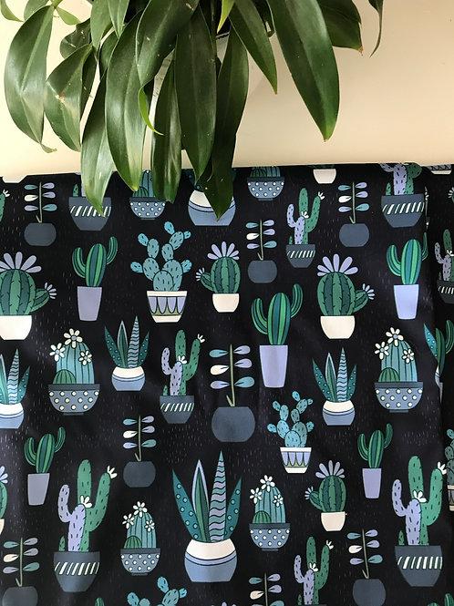 Imperméable tissu Cactus - Col Mao ou capuchon *sur commande*