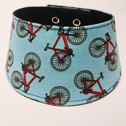 Foulard pour chats à motifs de vélos
