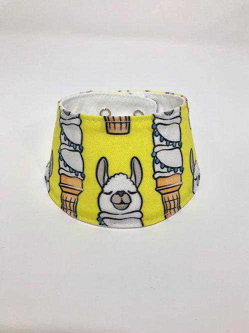 Foulard pour chats à motifs de cornet de lama