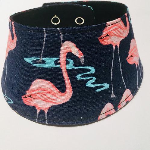 Foulard pour chats à motifs Flamants rose