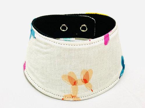 Foulard pour chats à motifs de chiens ballons