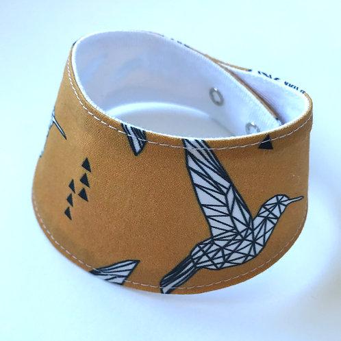 Foulard pour chats à motifs d'oiseaux