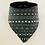 Thumbnail: Foulard à motifs aztèque