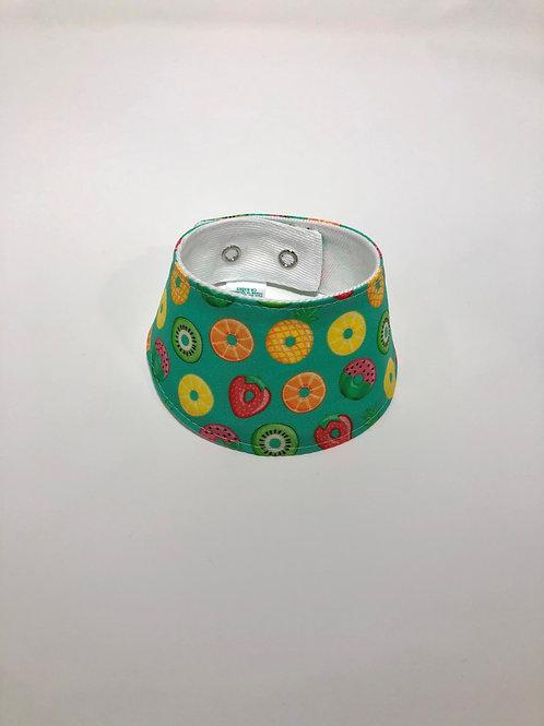 Foulard pour chats à motifs de fruits gonflables