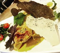 Cannelloni au four d'Aji de Gallina