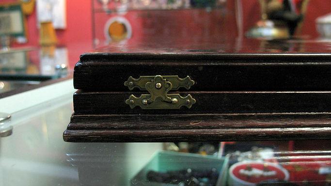 Шикарный набордесертных вилок и ножей в стиле Ампир, еврейское серебро