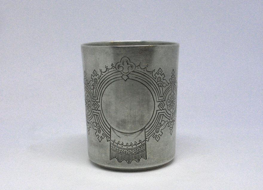 стопка серебро 84 проба