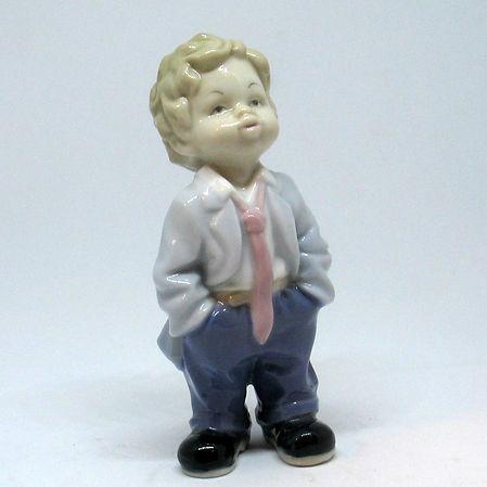 Статуэтки Мальчик Бронза. Высота 10 см.