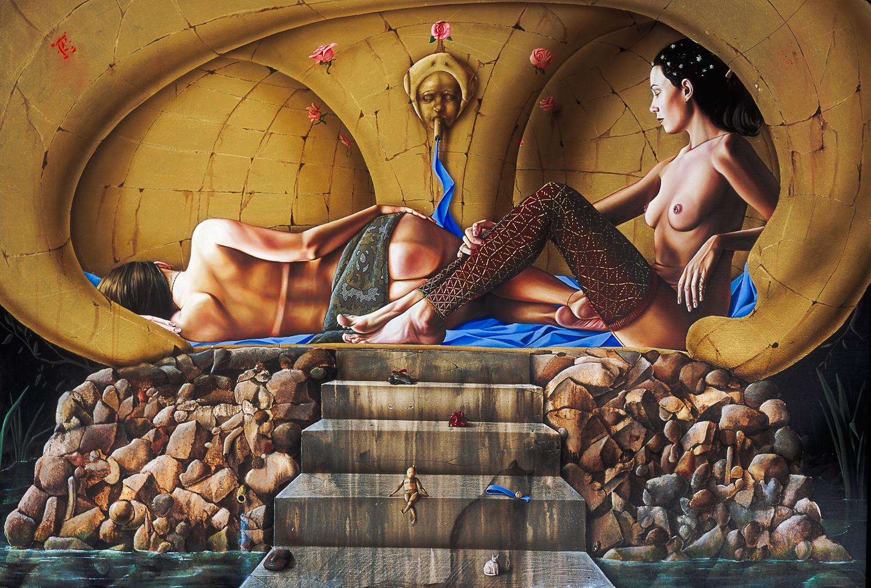 El baño de las brujas