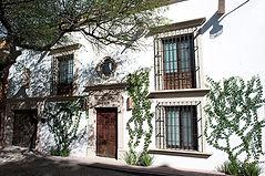 Entrance for Casa Arboles