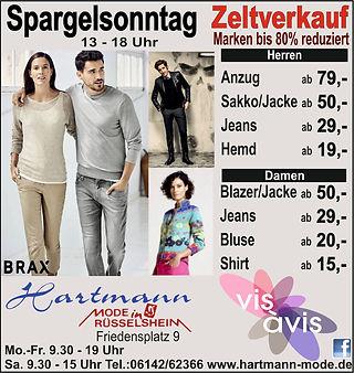 Spargelsonntag Verkaufsoffener Sonntag in Rüsselsheim am Main