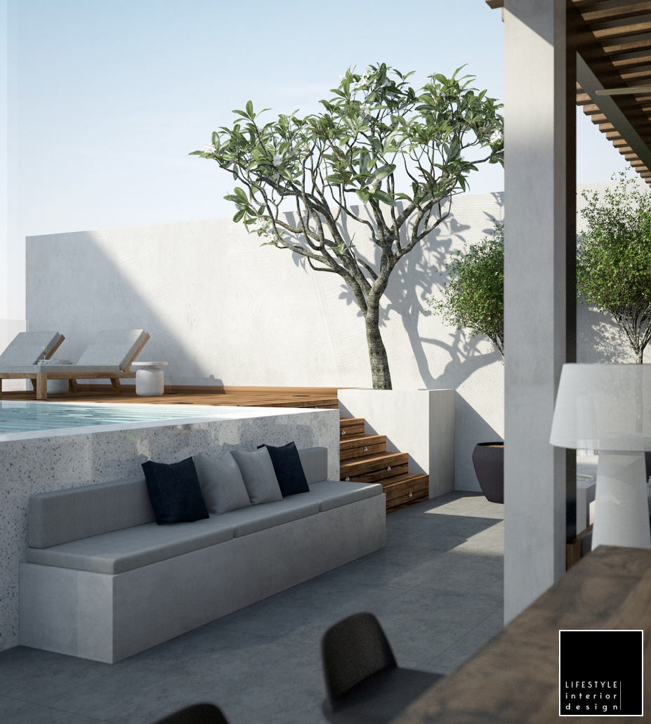 Exterior interior design project in Ho Chi Minh / Saigon by LifeStylconnected