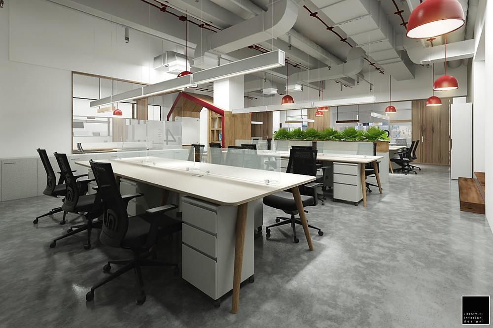 Office Interior Design Ho Chi Minh Vietnam