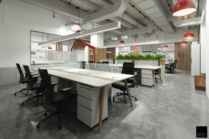 Office Interior Design Ho Chi Minh Vietnam