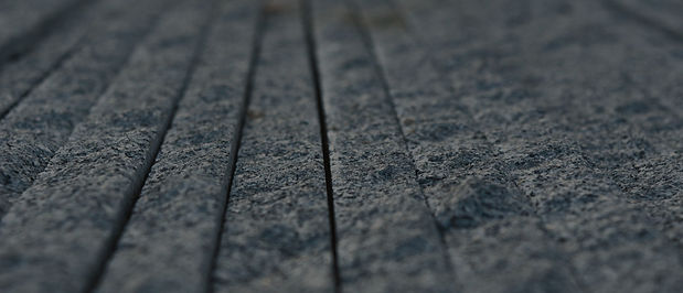 drilled floor grooves