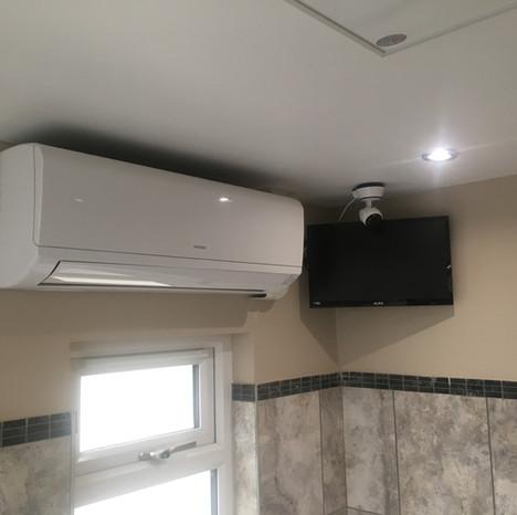 Climate Control / TV / Security Camera