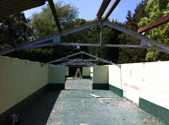 Removing Roof